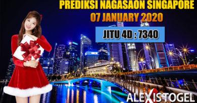 Prediksi Nagasaon Singapore 07  January 2021